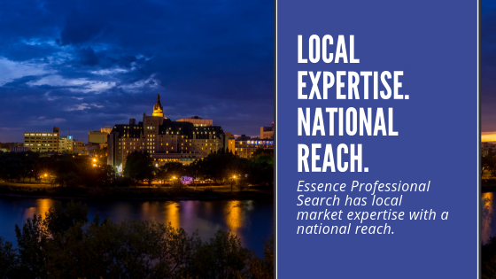 Essence Recruitment has local market expertise with a national reach