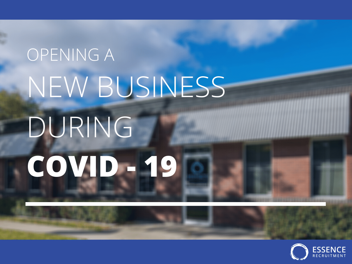open a business during covid